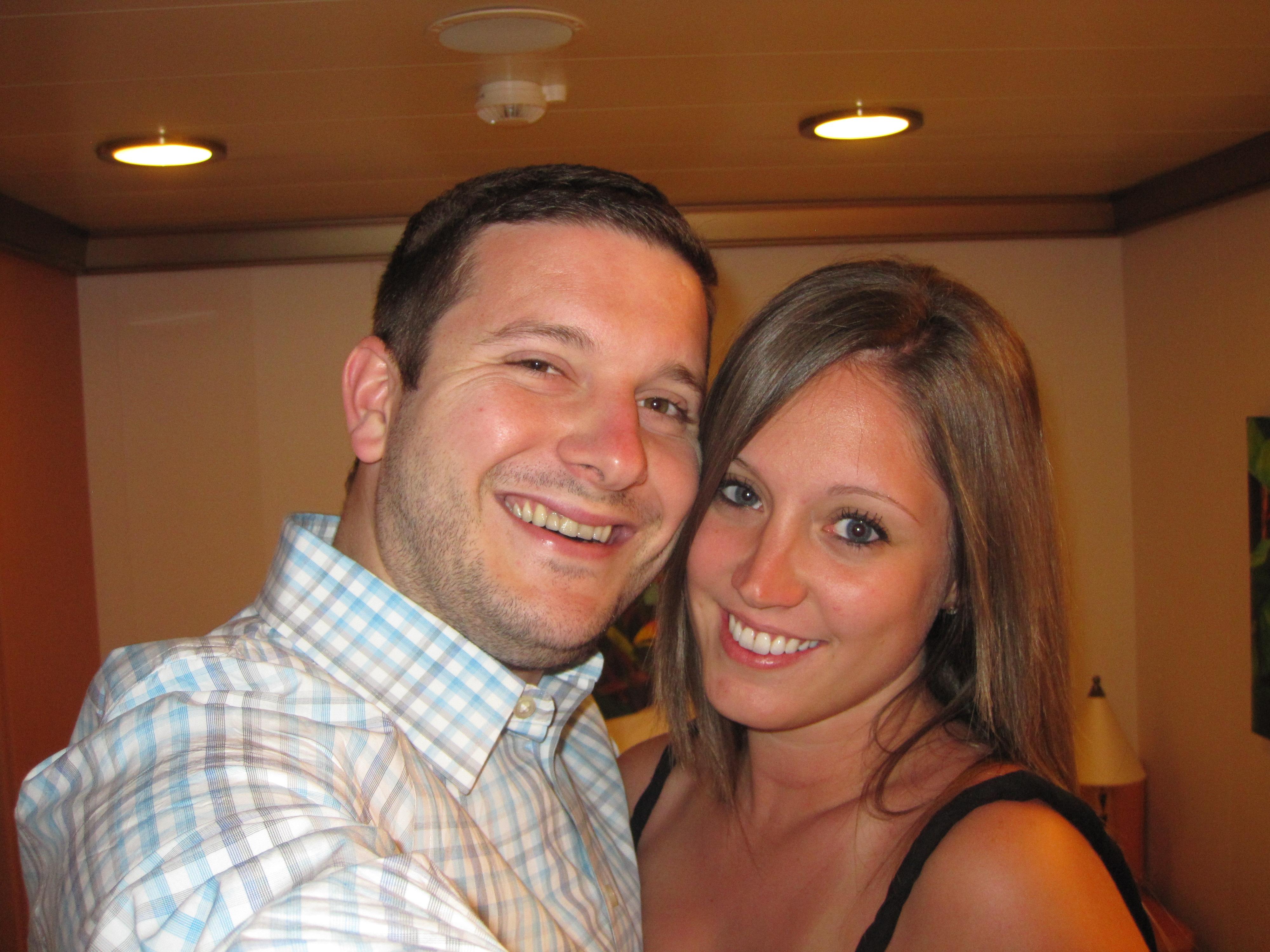 Josh + Lauren, Euro cruise, 2011